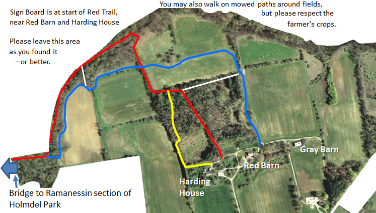 Holmdel Park – Ramanessin and Bayonet Farm   njHiking com